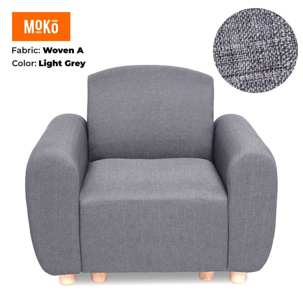 Moko Djenga one sitter Woven A Light Grey
