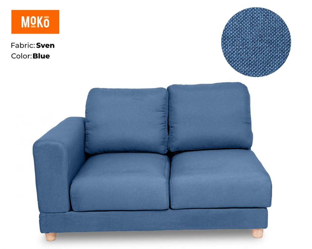 Moko Jiji 2 Seater Sven Blue