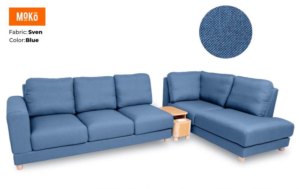 Moko Jiji 6 Seater Sven Blue