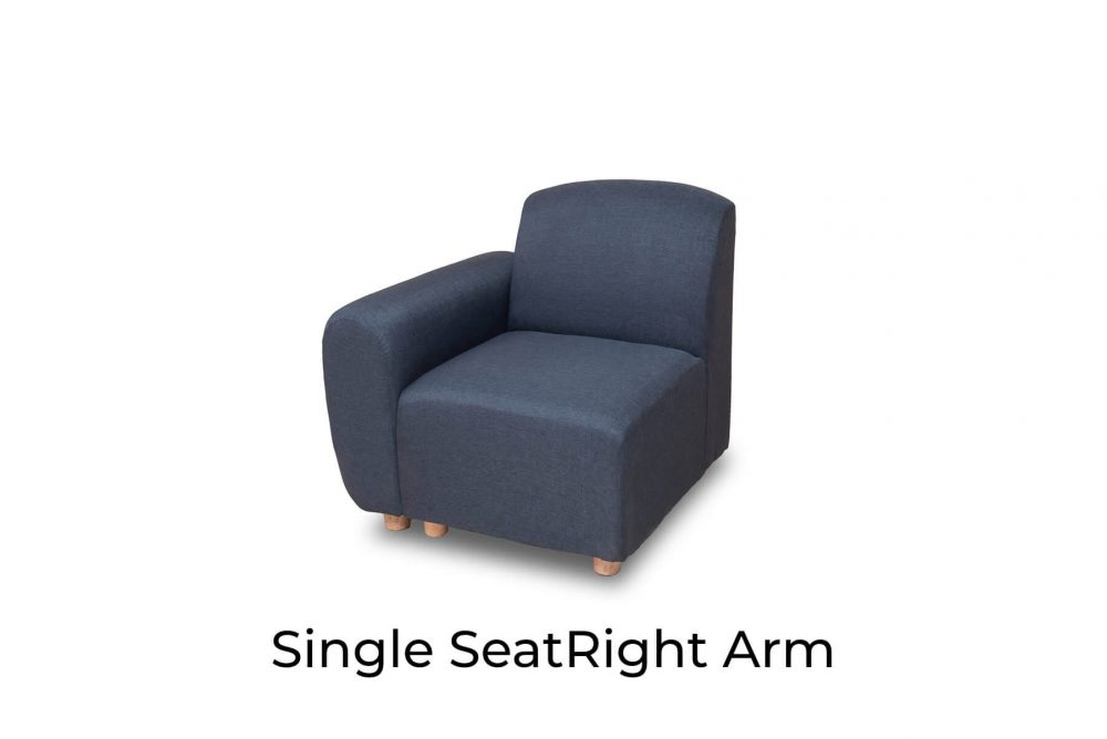 Moko Djenga Single Seat Right Arm