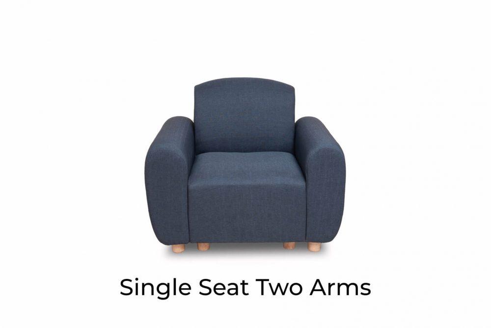 Moko Djenga Single Seat Two Arms